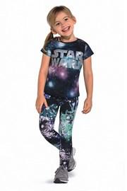 Kolorowe legginsy dziecięce Roxi