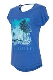 Damski T-shirt sportowy 4F Ocean