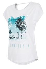 Damski T-shirt sportowy 4F Ocean White