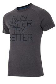 Męski T-shirt sportowy Run Faster