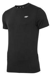 Męski T-shirt fitnessowy Black
