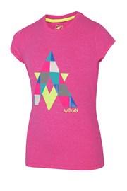 Koszulka dziewczęca Autumn Pink
