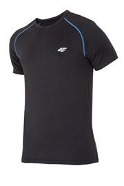 Męski T-shirt sportowy TD black