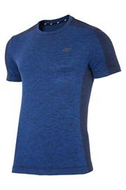 Męski T-shirt sportowy 4F niebieski