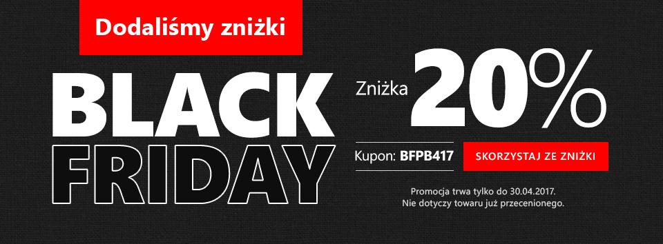 Black Friday 20 %