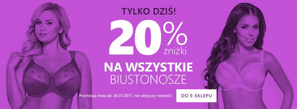 Wszystkie biustonosze-20%