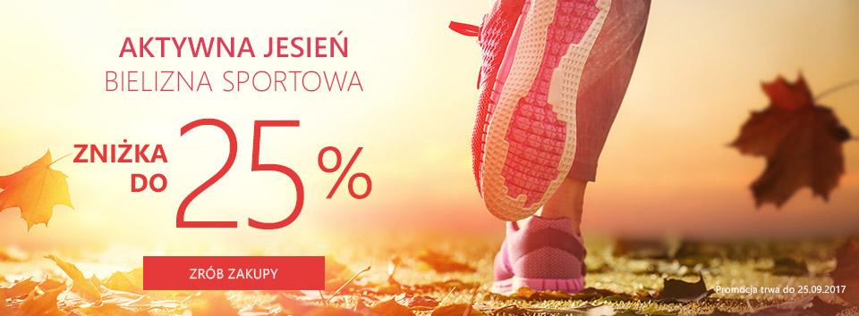Odzież sportowa -25 %