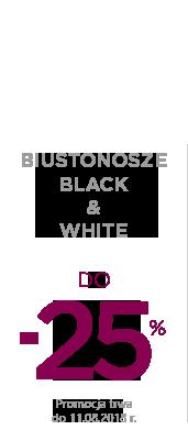 Black & White -25 %.