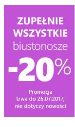 Wszystkie biustonosze -20 %.