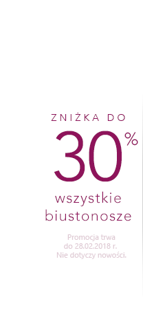 Podprsenky až -30 %
